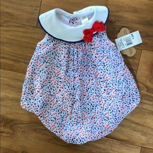 Baby essentials bloomer onsie